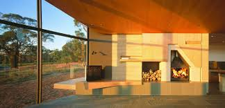 100 Wardle Architects John Vineyard Residence Australian Fireplace