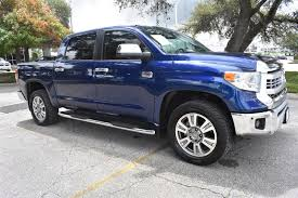 Pre-Owned 2015 Toyota Tundra 4WD Truck 1794 Crew Cab Pickup In San ...