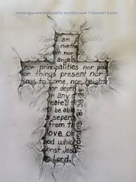 Cross Tattoos With Scripture
