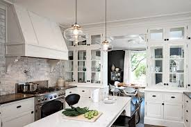 kitchen attractive clear glass pendant lights for kitchen island