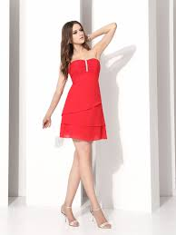 short red bridesmaid dresses jcpenney top 50 short red