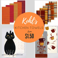 Through Sunday 9 24 Kohls Will Have Some Awesome Deals On Fall Home Decor Cardholders Get An Extra 30 Off Your Entire Purchase With The Code