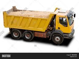 100 Yellow Dump Truck Big Image Photo Free Trial Bigstock