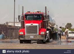 Truck Wash Service Stock Photo: 48456004 - Alamy