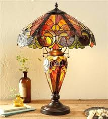 Stained Glass Decorations Awesome Lamps With Regard To Inspired Lamp Wind Weather 6
