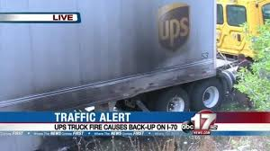 UPS Truck Catches Fire, Backs Up Traffic On I70 At 63 - KMIZ Just A Car Guy New Take On A Ups Truck Was At Sema Sustainability Partners With Wkhorse To Build Electric Delivery Vans Reuters Ups Delivery Van Stock Photos Images Page Fedex Shares Drop Fears Amazon Starting Service Carbon Fiberloaded Gmc Sierra Denali Oneups Fords F150 Wired Tests Drone System An Electric How Replace Apc Battery Modellbiler Front Center Roy Oki Has Driven The Short Route Long Career Best Pickup Trucks 2018 Auto Express