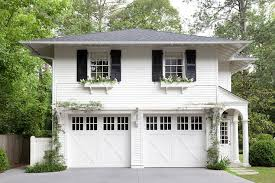 Traditional 2 Car Garage with Apartment Traditional Home Exterior