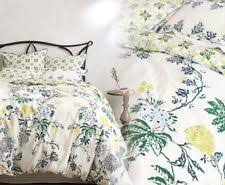 NEW Anthropologie ARDSLEY Collection Full Bedskirt FLORAL Cotton NWT Bed Skirt