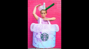 Starbucks Unicorn Drink Costume DIY