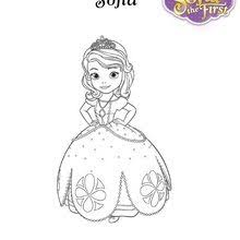 SOFIA THE FIRST Coloring Pages Sofia The First Disney Junior Princess