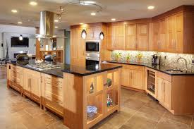 Hampton Bay Track Lighting Kitchen Contemporary With Arts Crafts Black Countertop Cabinetry Cherry Concrete