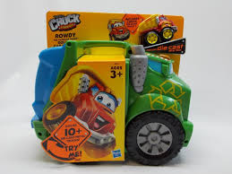 99 Chuck And Friends Tonka Trucks Rowdy Recycling Garbage Truck And By