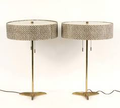 Stiffel Floor Lamps With Glass Table by Vintage Floor Lamp With Glass Table Arteriors Home Norman Glass