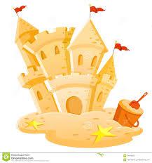 Cartoon Sand Castle Clip Art 046a441f91b7d4a80ed729f75808d2