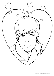 Perfect Justin Bieber Coloring Pages 84 On For Adults With