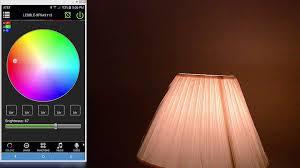 magic blue smart led color light bulb rgbw