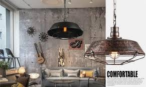 Industrial Loft Antique Lamp Edison Bulb Vintage Pendant Light Fixtures Metal Hanging Droplight For Dining Room Indoor Lighting