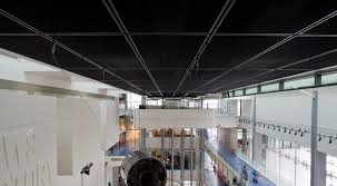 Black Ceiling Tiles 2x4 by Metal Ceiling Panels Attractive Durable Non Perforated Metal
