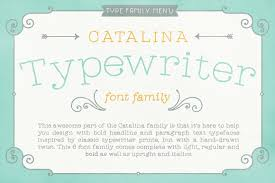 Catalina Typewriter Font By Kimmy Kirkwood