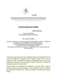 HISTOIRE INCONNUE DES HOMMES Robert Charroux Ebook French