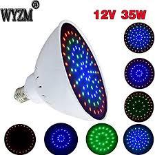 12volt 35watt color changing led pool light bulb for 300w 500w