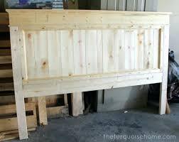 King Size Headboard Plans Lovable Bed Wood Best Ideas On Farmhouse