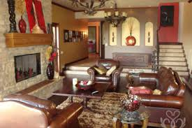Living Room Rustic Country Decora
