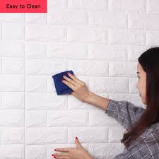 Peel Stick Wall Panel Brick Design Product Details