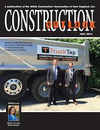 100 Pacella Trucking Construction Outlook July 2016 By Ucane Issuu