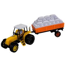 100 Toy Farm Trucks And Trailers Amazoncom TukTek Kids First Tractor And Trailer