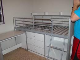 Walmart Bunk Beds With Desk by Charleston Storage Loft Bed With Desk White Walmart Com