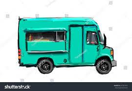 100 Green Food Truck Billets Light Color Stock Illustration