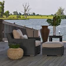 Woven Rattan Outdoor Furniture Coastal Style