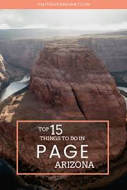 100 Resorts Near Page Az Top 15 Things To Do In AZ That Traveling Family
