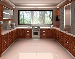 U Shaped Kitchen Attractive Layout On Home Decoration Ideas With