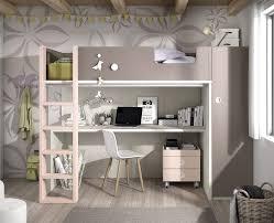 mezzanine chambre chambre ado composée d un lit haut meubles ros meubles ros