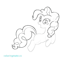 Honey Pie Pony Coloring Pages Pinkie Sheet My Little