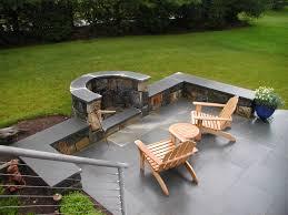 Semi Circle Patio Furniture by Outdoor Fireplaces U0026 Fire Pits Freddy U0027s Landscape Company