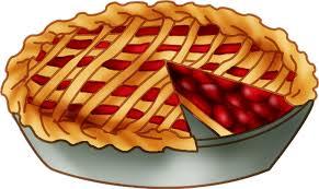 Clipart cherry pie day