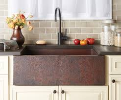 Undermount Kitchen Sinks At Menards by Sinks Outstanding Copper Farmhouse Sink Lowes Copper Farmhouse