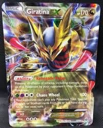 giratina ex 57 98 pokemon tcg xy ancient origins over the top