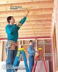 Hanging Drywall On Ceiling by How To Hang Drywall Like A Pro U2014 The Family Handyman