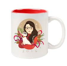StacyPlays Holiday Mug 2016 Limited Edition