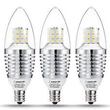 tgmold candelabra led bulbs dimmable 60watt light bulbs equivalent
