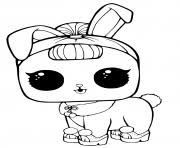 LOL Surprise Pets Coloring Page Crystal Bunny Pages