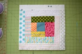 TUTORIAL Scrappy Log Cabin Quilt As You Go QAYG Quilt