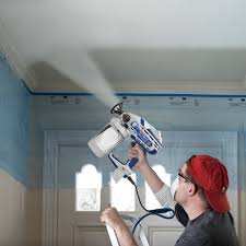 airless paint sprayer for ceilings how to paint a popcorn ceiling graco