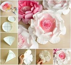 Turn The Paper Plate Into These Easy Stunning Flower Flowers Are Perfect For Decorating Using Them As A Gift Topper Or Pop On