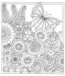 A Serene Meadow Scene From Colour Me Happy Zen Colouring Book Lacy Mucklow Davlin Publishing