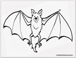 Coloring Page Bat Small Drawing And Pages Marisa